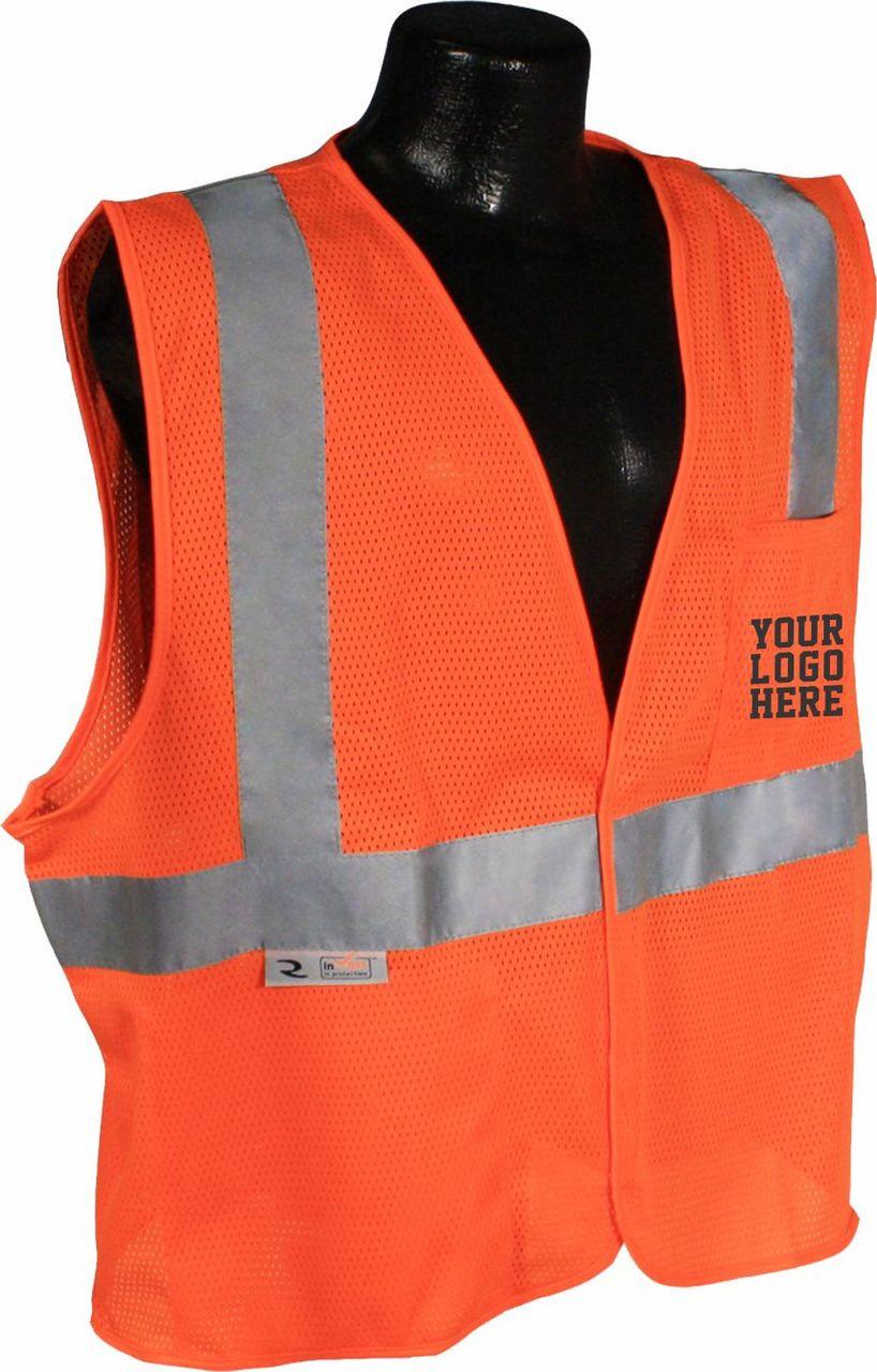 SV2 Class 2 Safety Vest custom Printed