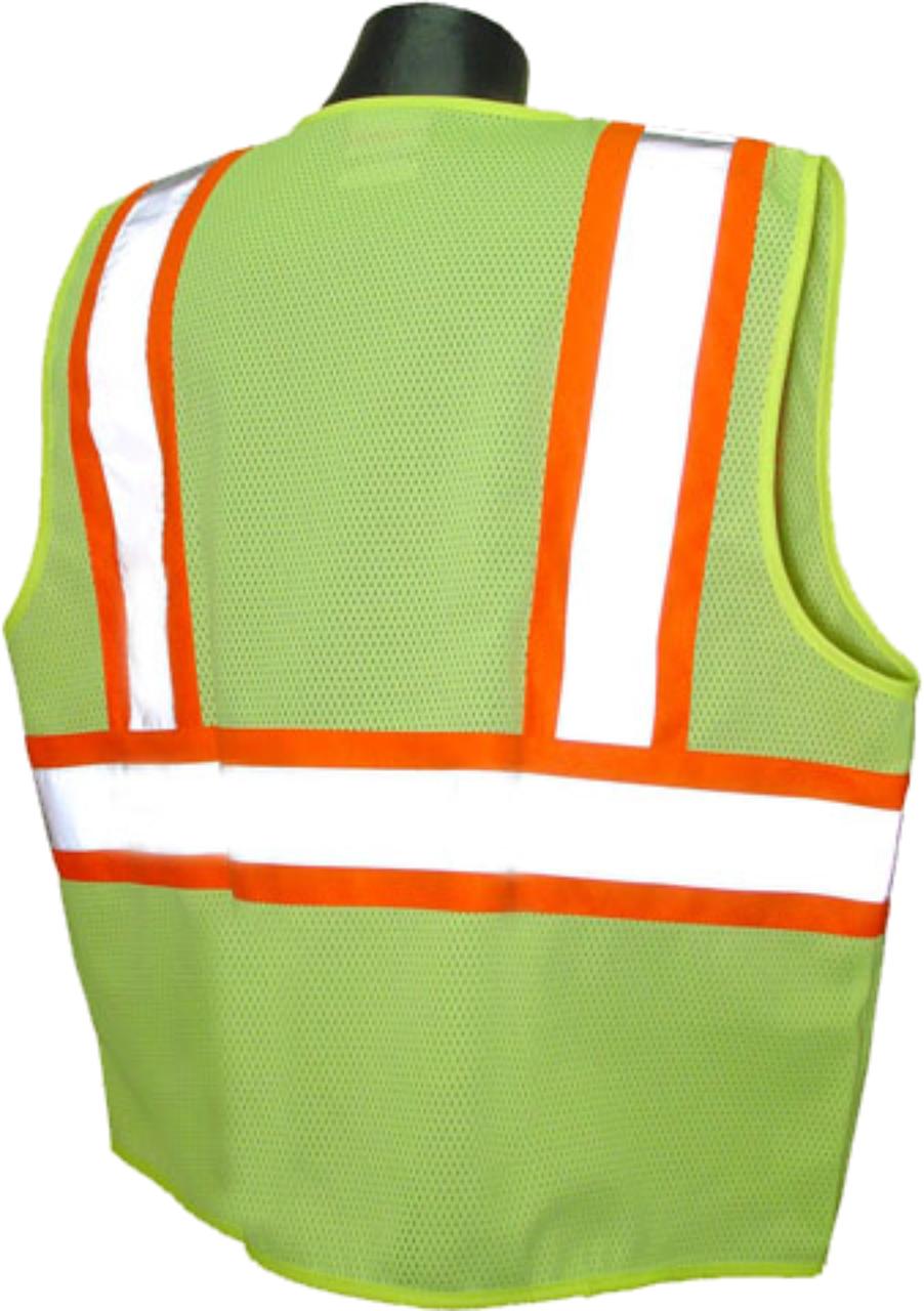 Safety Green 2 Tone Class 2 Safety Vest