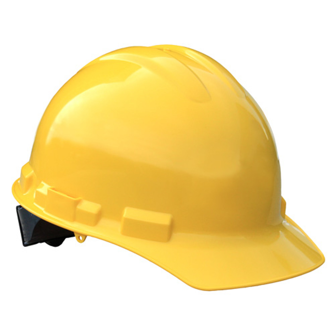 Yellow Radians Hard Hat with Ratchet Suspension Made in The USA