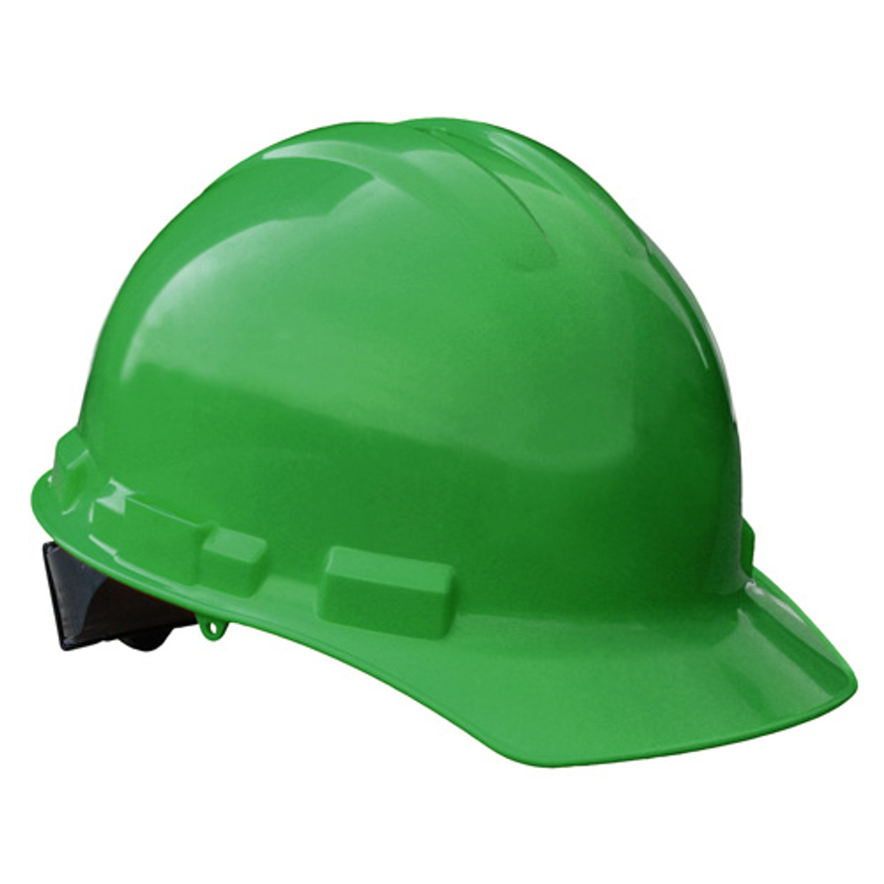Green Radians Hard Hat with Ratchet Suspension Made in The USA