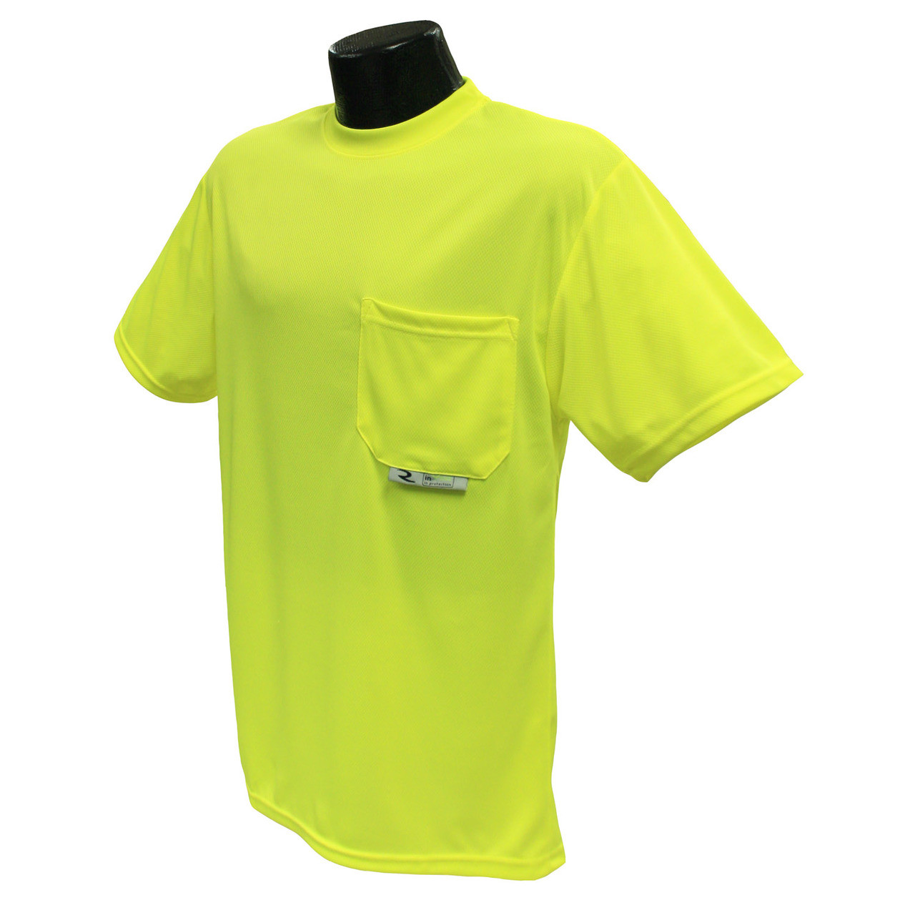Hi-Vis Green Non-Rated Short Sleeve T-Shirt with MAX-DRI™ *Custom Printing Available*