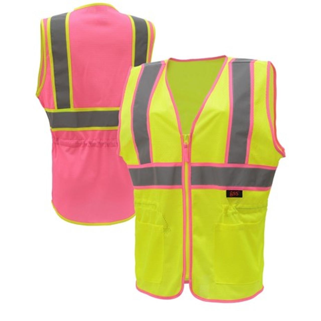 2 Tone Lady Safety Vest Class 2