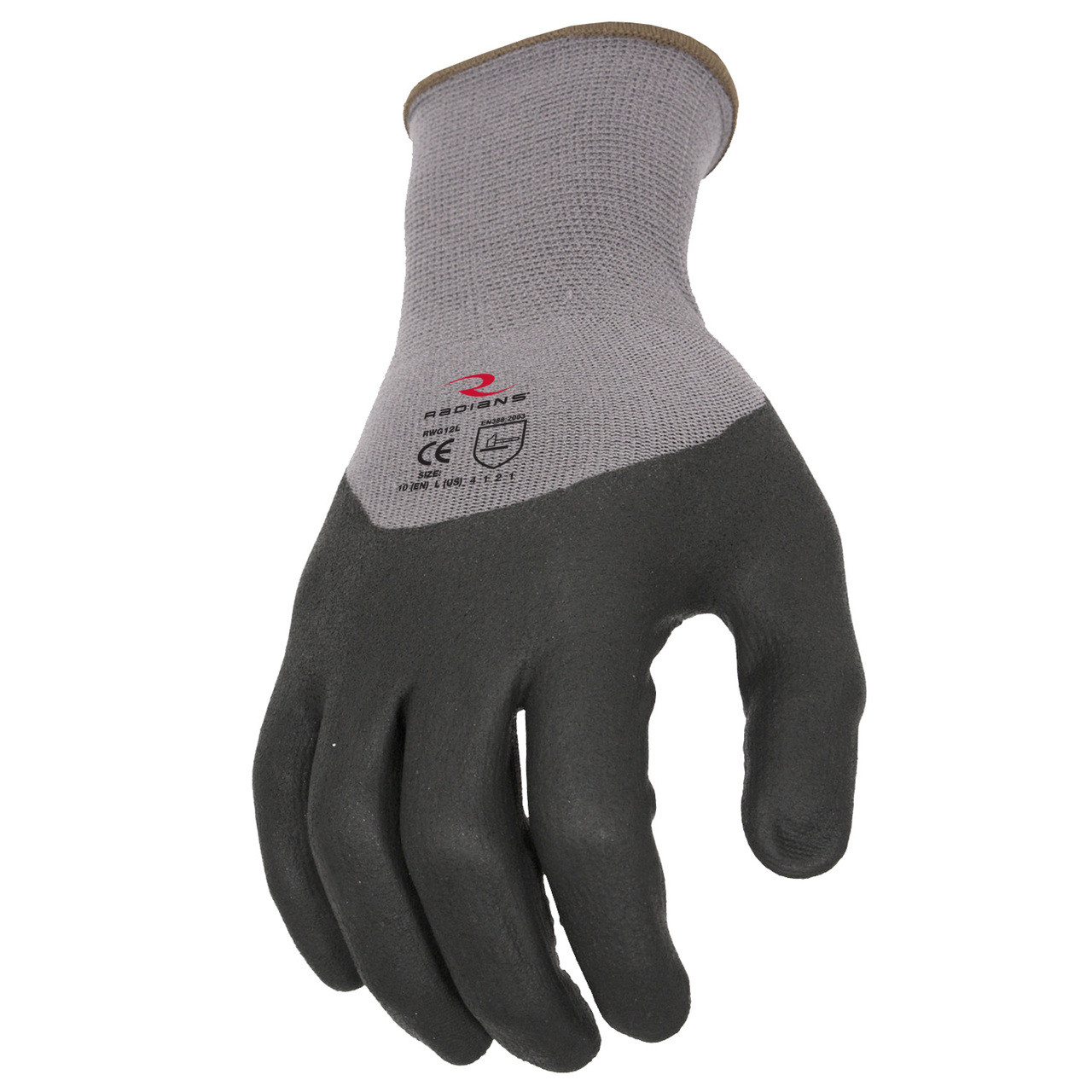 3/4 Foam Dipped Dotted Nitrile Glove