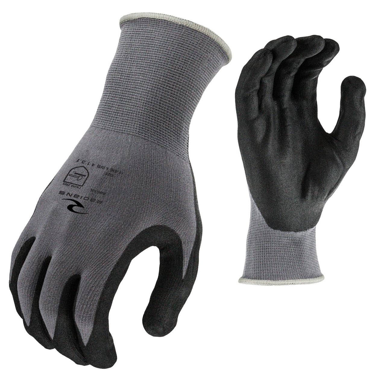 Foam Nitrile Gripper Glove