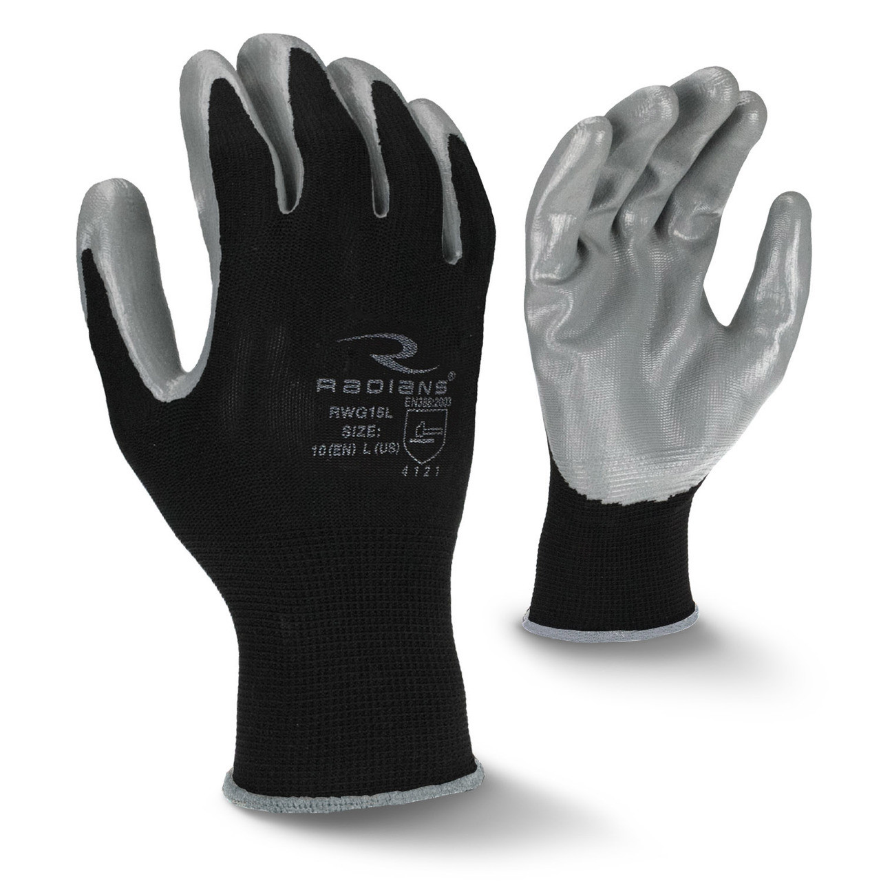 Smooth Nitrile Palm Coated Glove