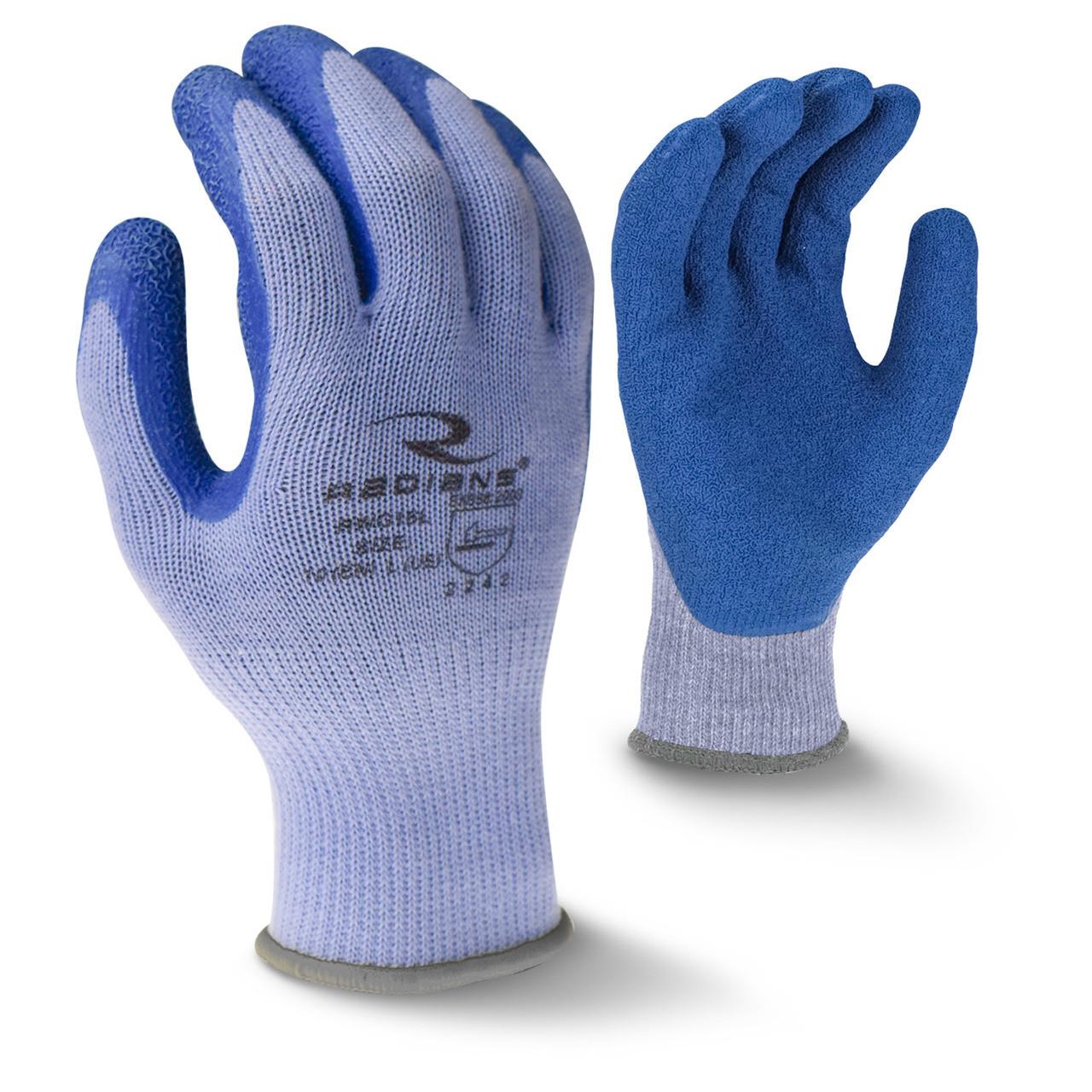 Crinkle Latex Palm Coated Glove