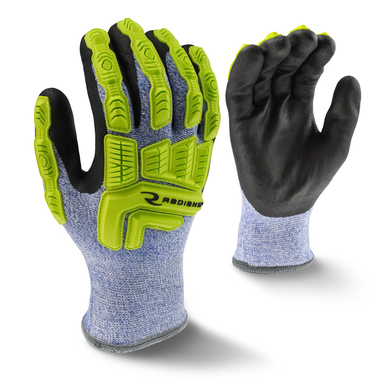 Cut Protection Level A4 Cold Weather Coated Glove