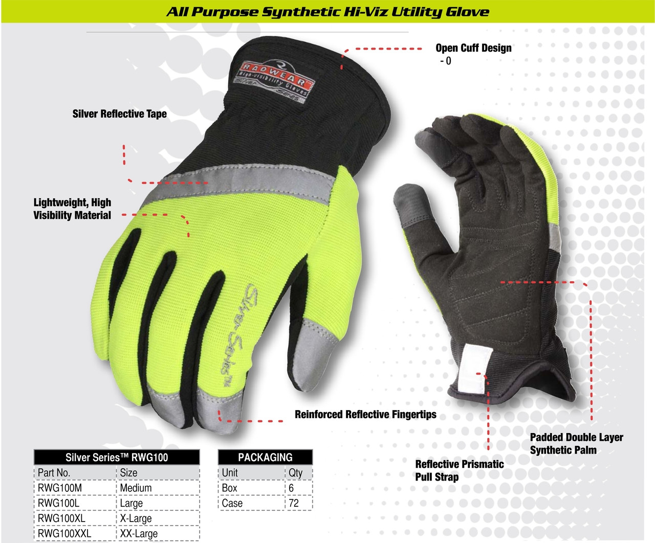 High Visibility Gloves - RWG100