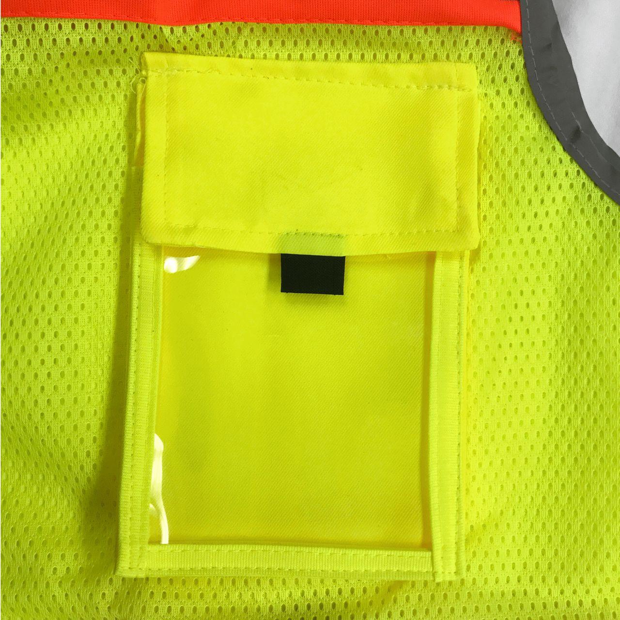 Surveyors Safety Vest Class 2 ID Badge Pocket
