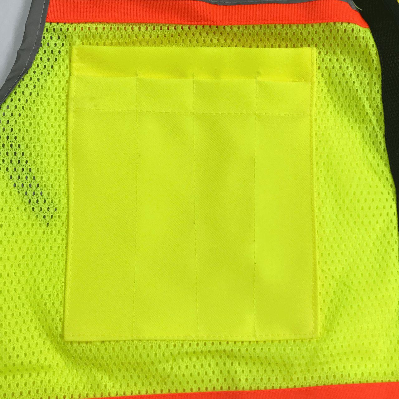 Safety Vest Pen Pocket