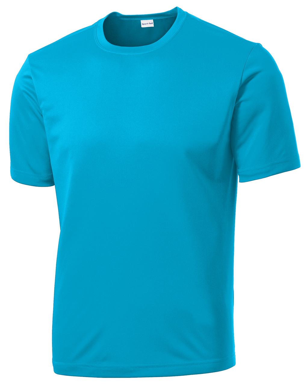 Atomic Blue PosiCharge Sport Tee 100% Polyester Moisture Wicking