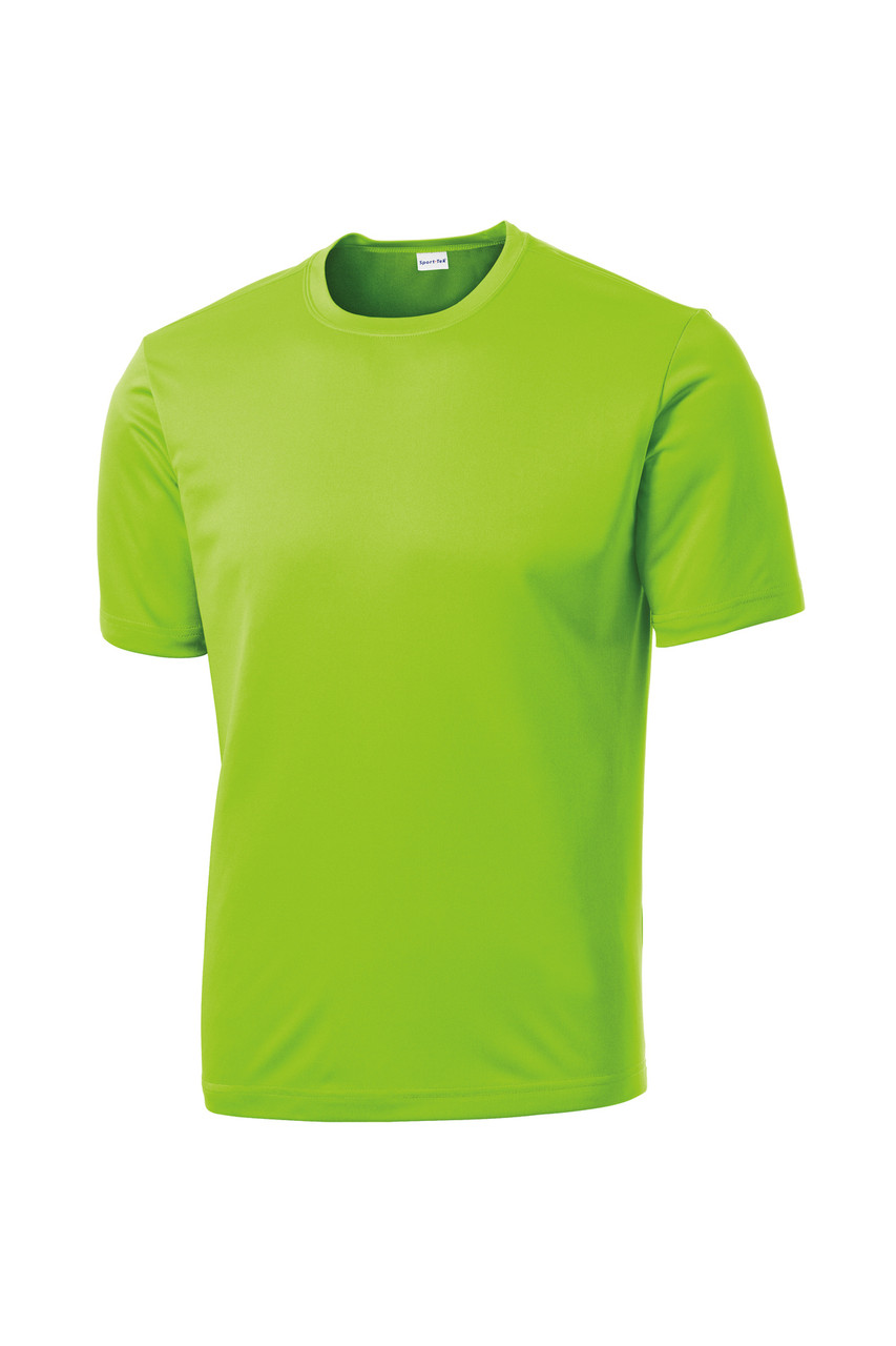 Lime Shock Performance Crew Tee