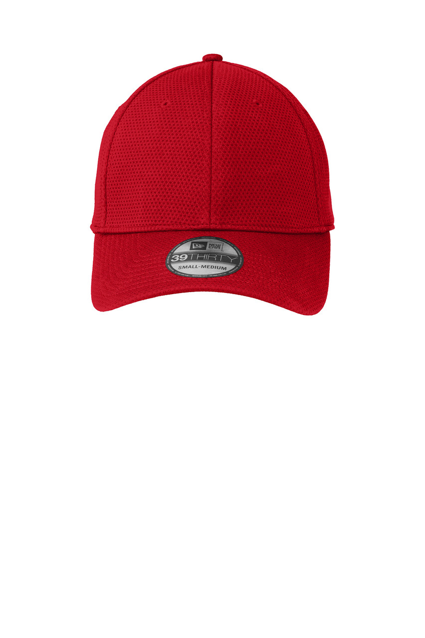 Scarlet Red New Era Fitted Hat
