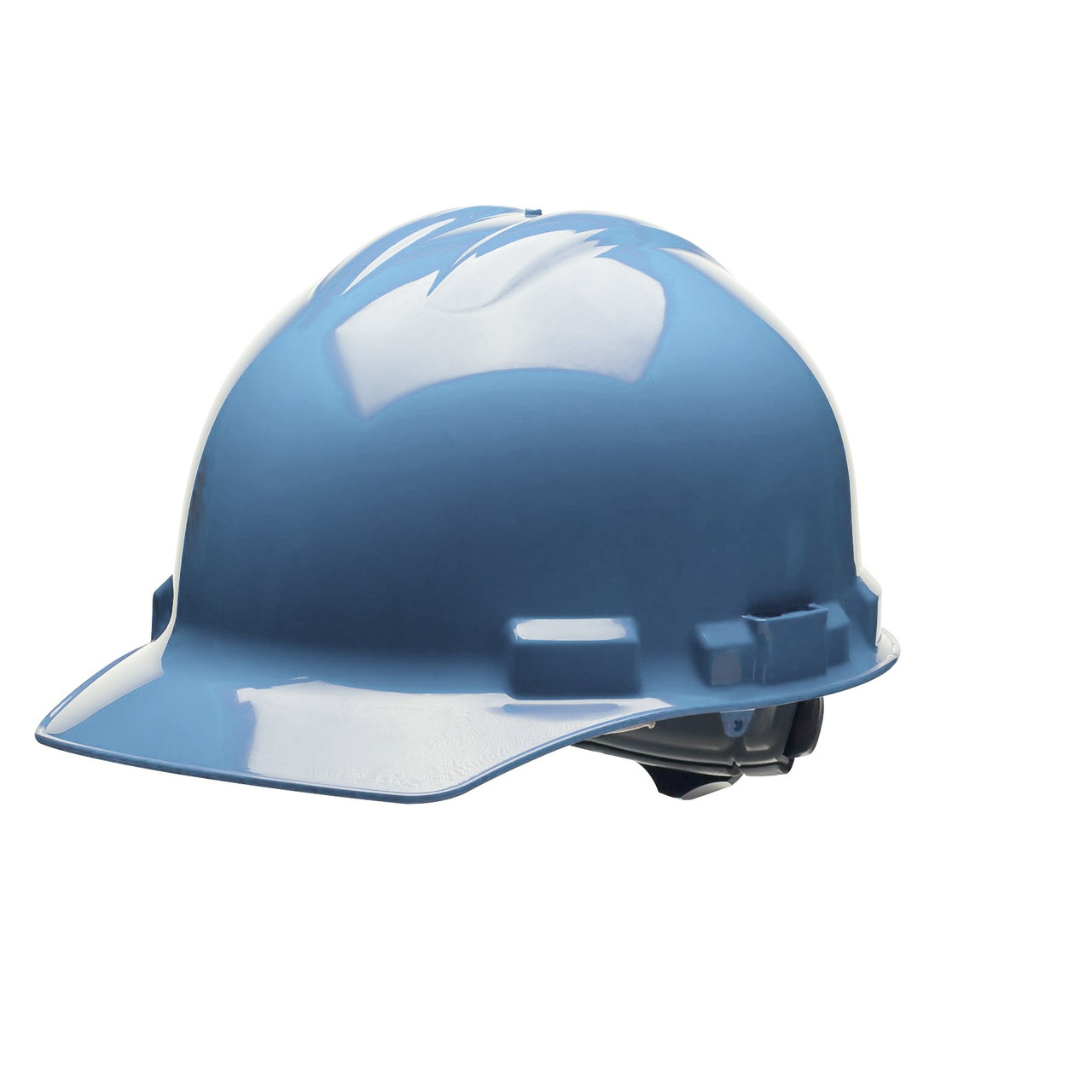 Blue Hard Hat Helmet Style Made in the USA