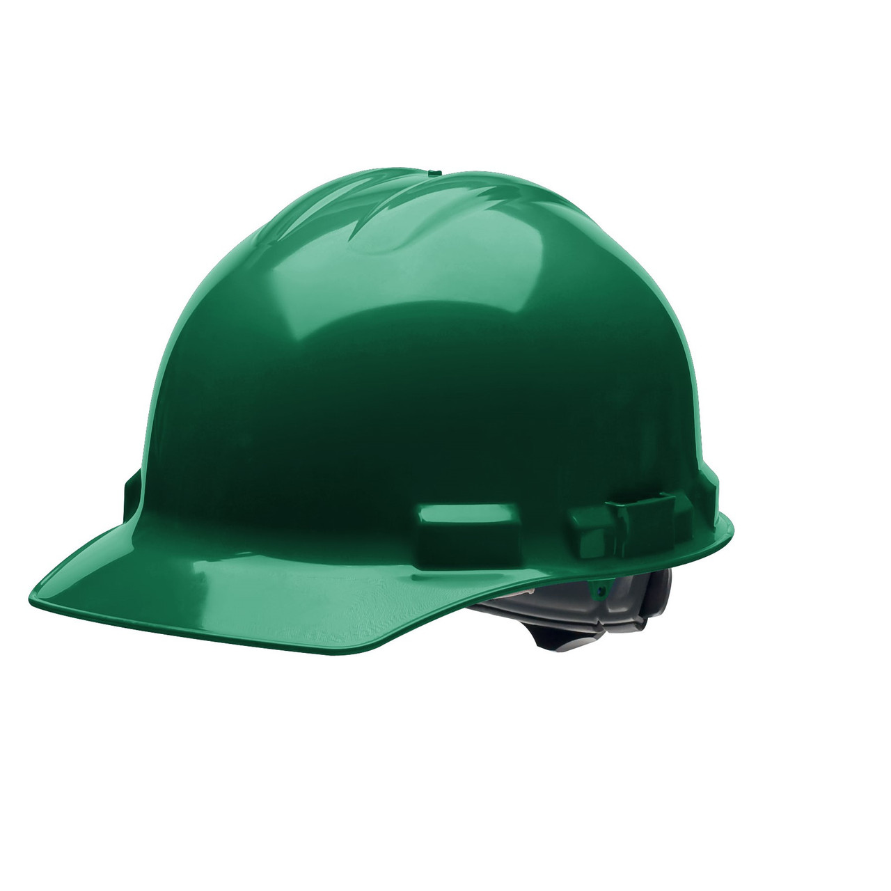 Forest Green Hard Hat Helmet Style Made in the USA