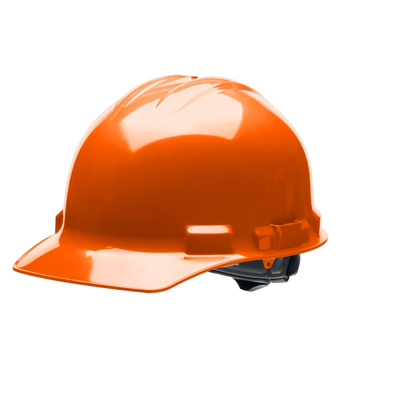 HiVis Orange Hard Hat Helmet Style Made in the USA