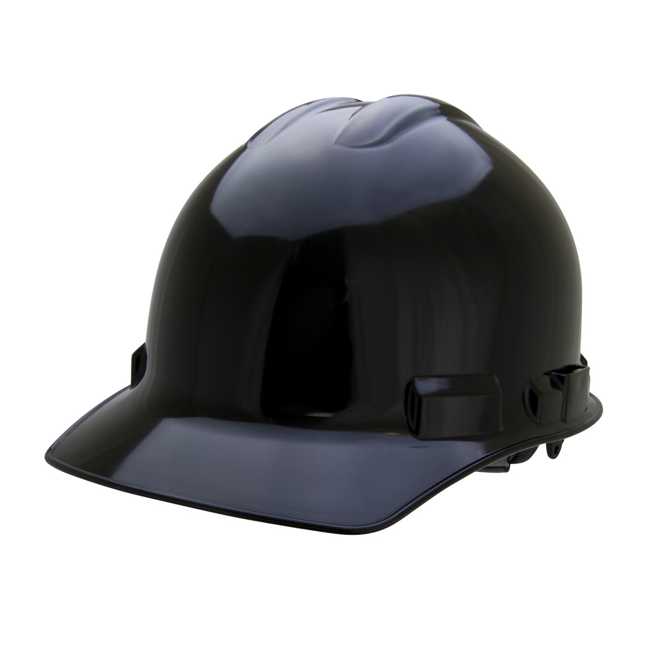 Black Hard Hat Helmet Style Made in the USA