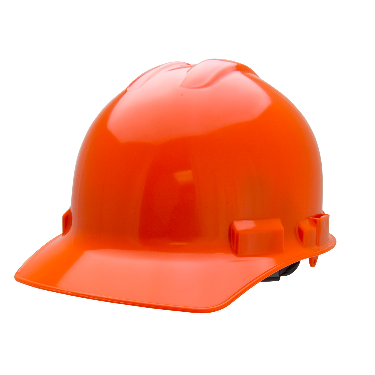 Orange Hard Hat Helmet Style Made in the USA