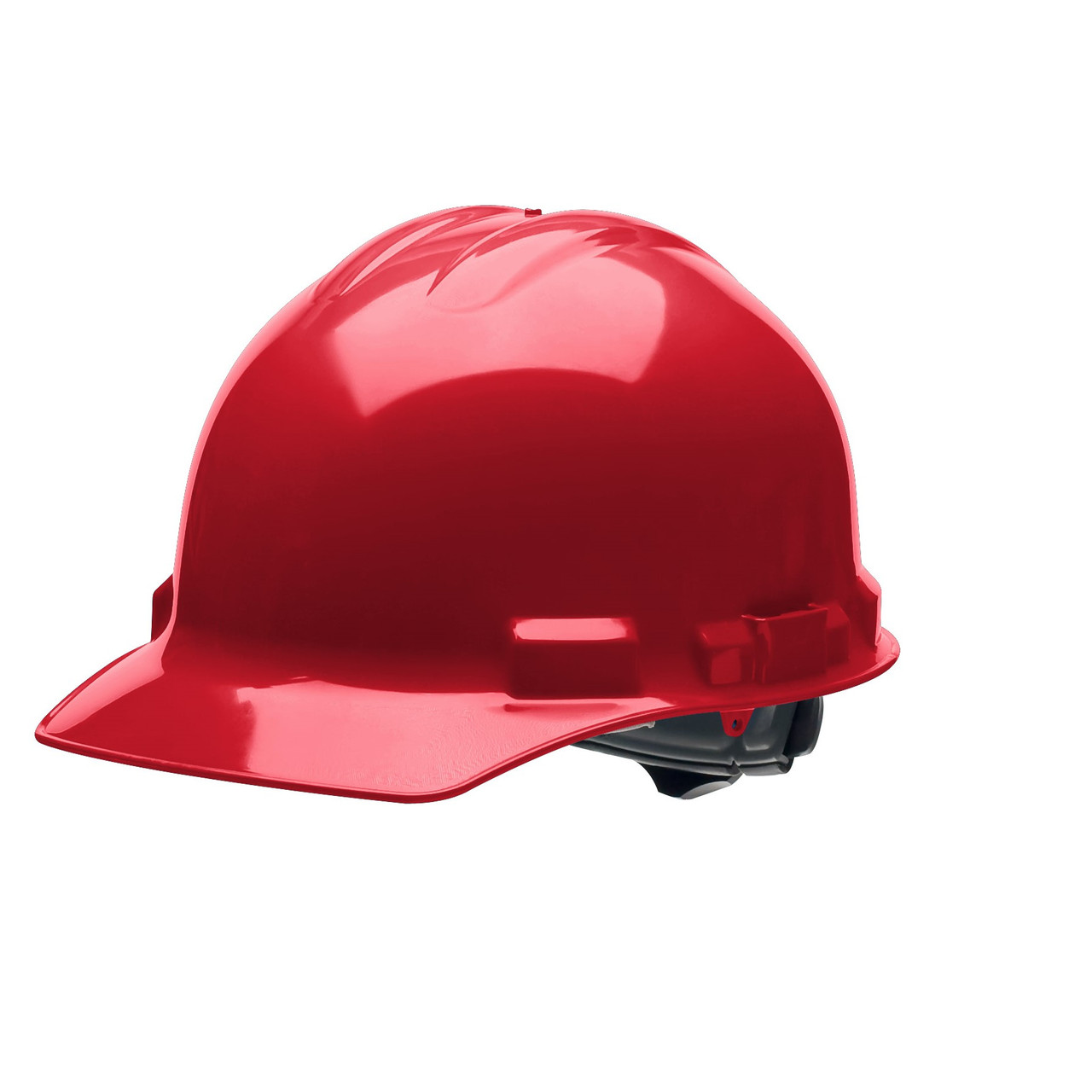 Red Hard Hat Helmet Style Made in the USA
