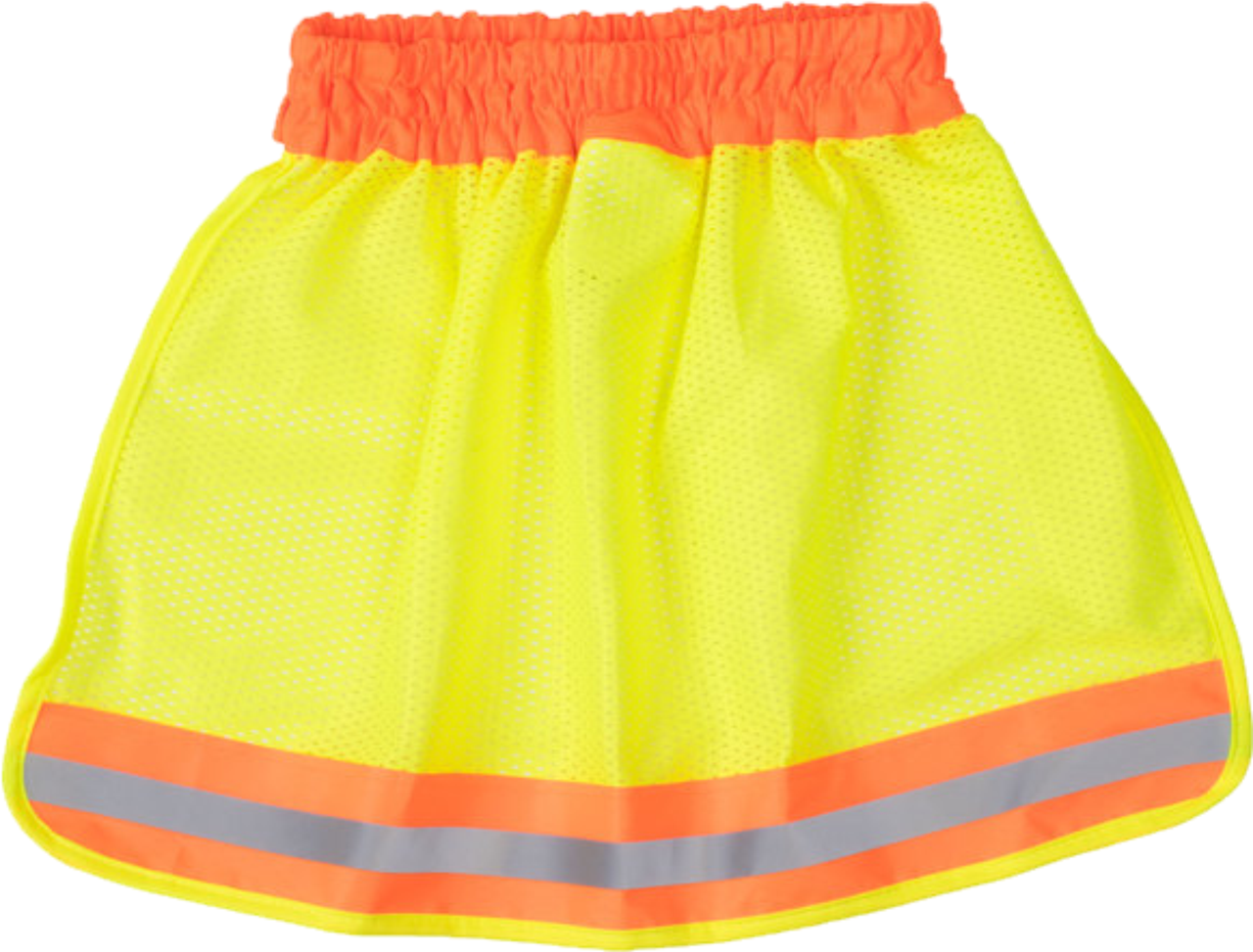Safety Green Hi Vis Hard Hat Neck Shade