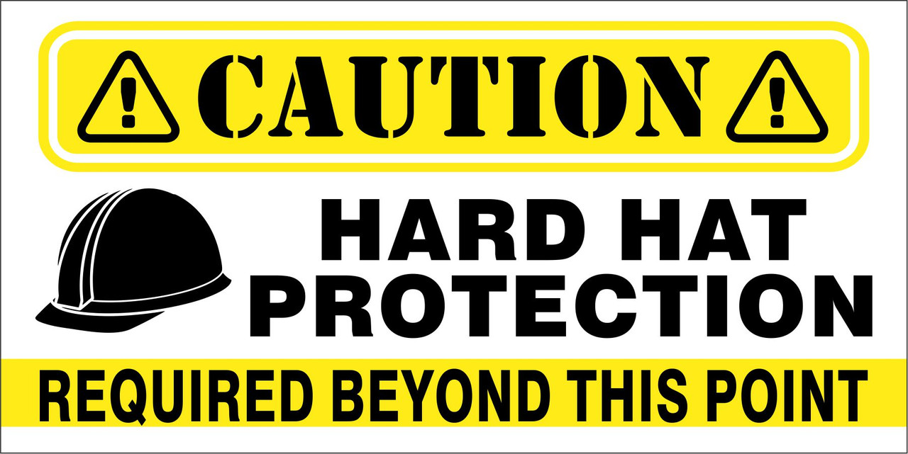 Banner - HARD HAT PROTECTION