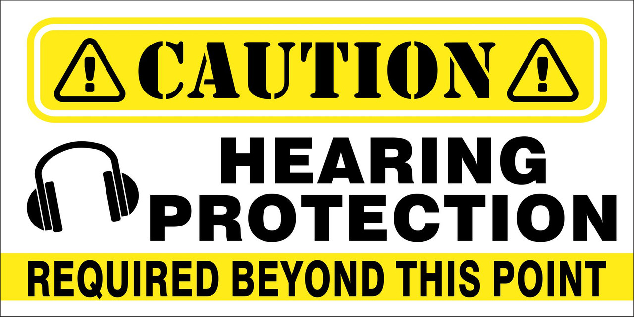 Banner - HEARING PROTECTION