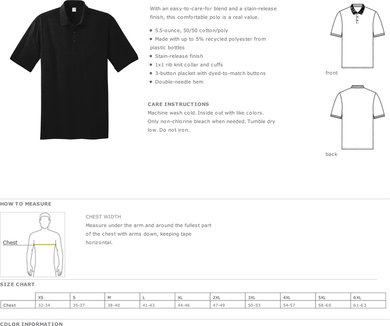 Security - Short Sleeve Polo Shirt