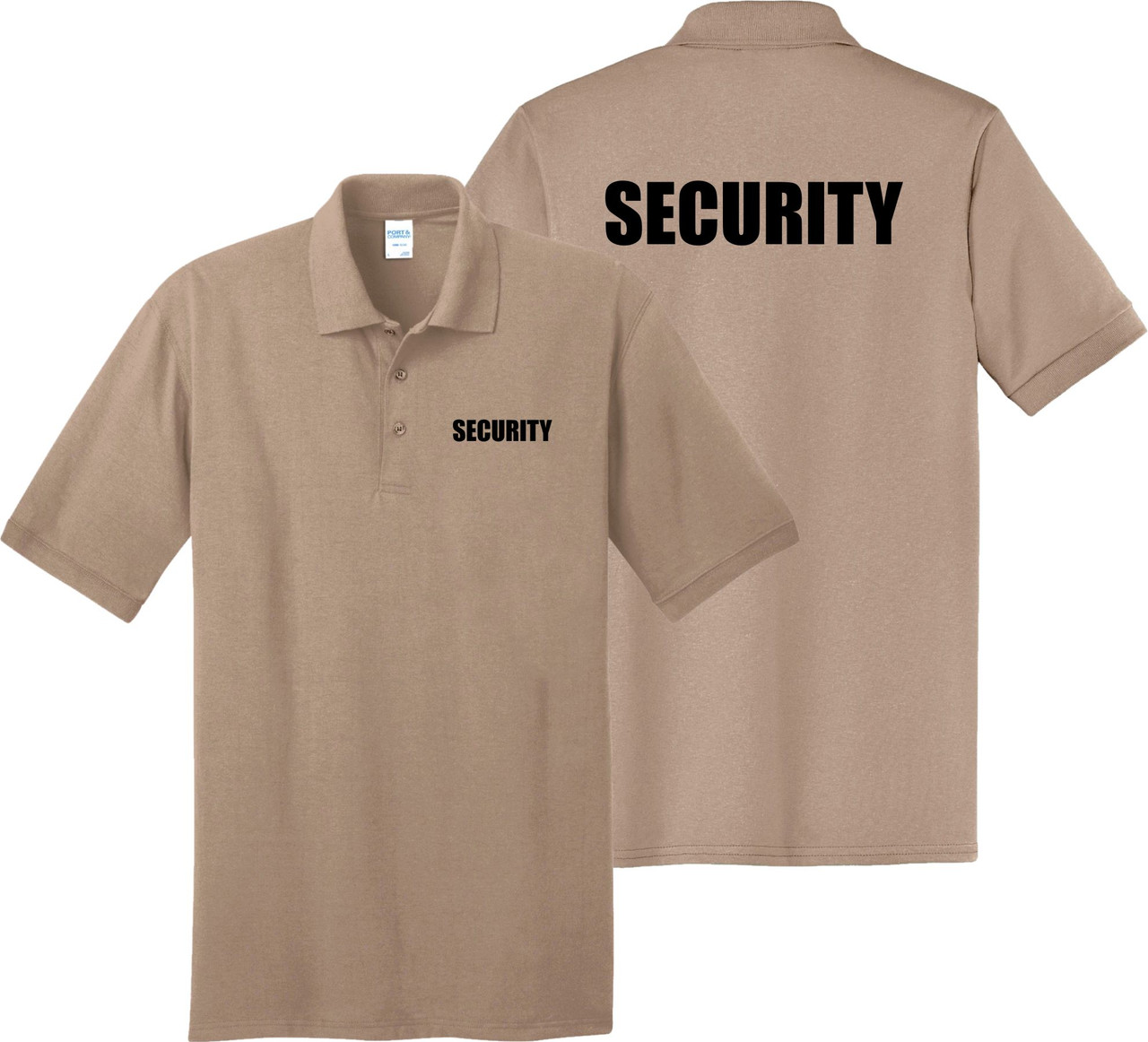 Sand Polo Security Shirt