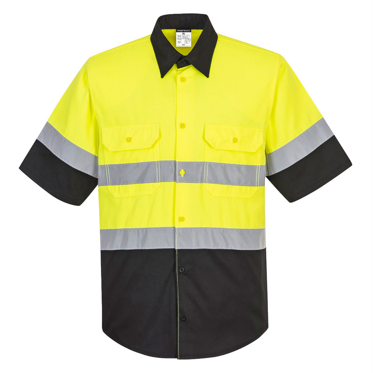 Hi Vis Safety Work Shirt Ansi Class 2