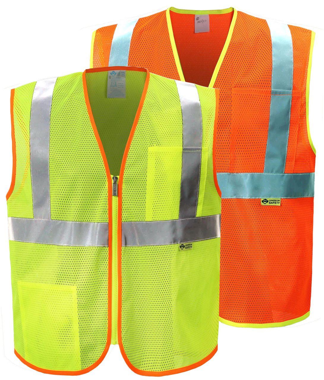 ANSI Class 2 Safety Vest | Reflective Contrast Safety Vest