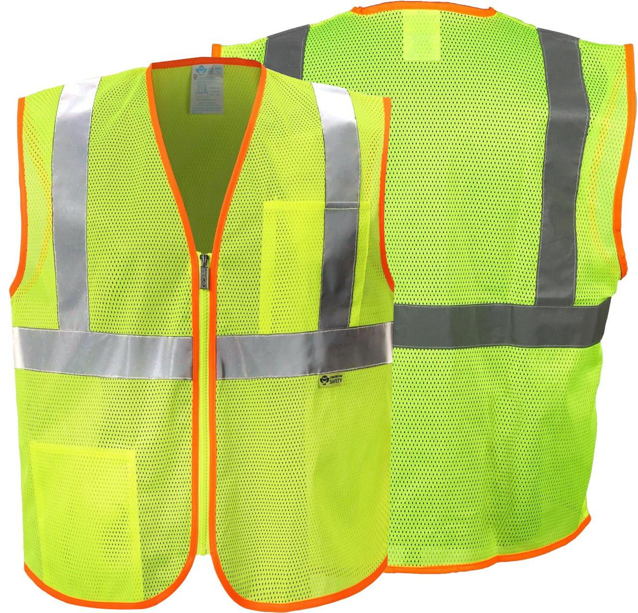 Safety Green Safety Vest Class 2