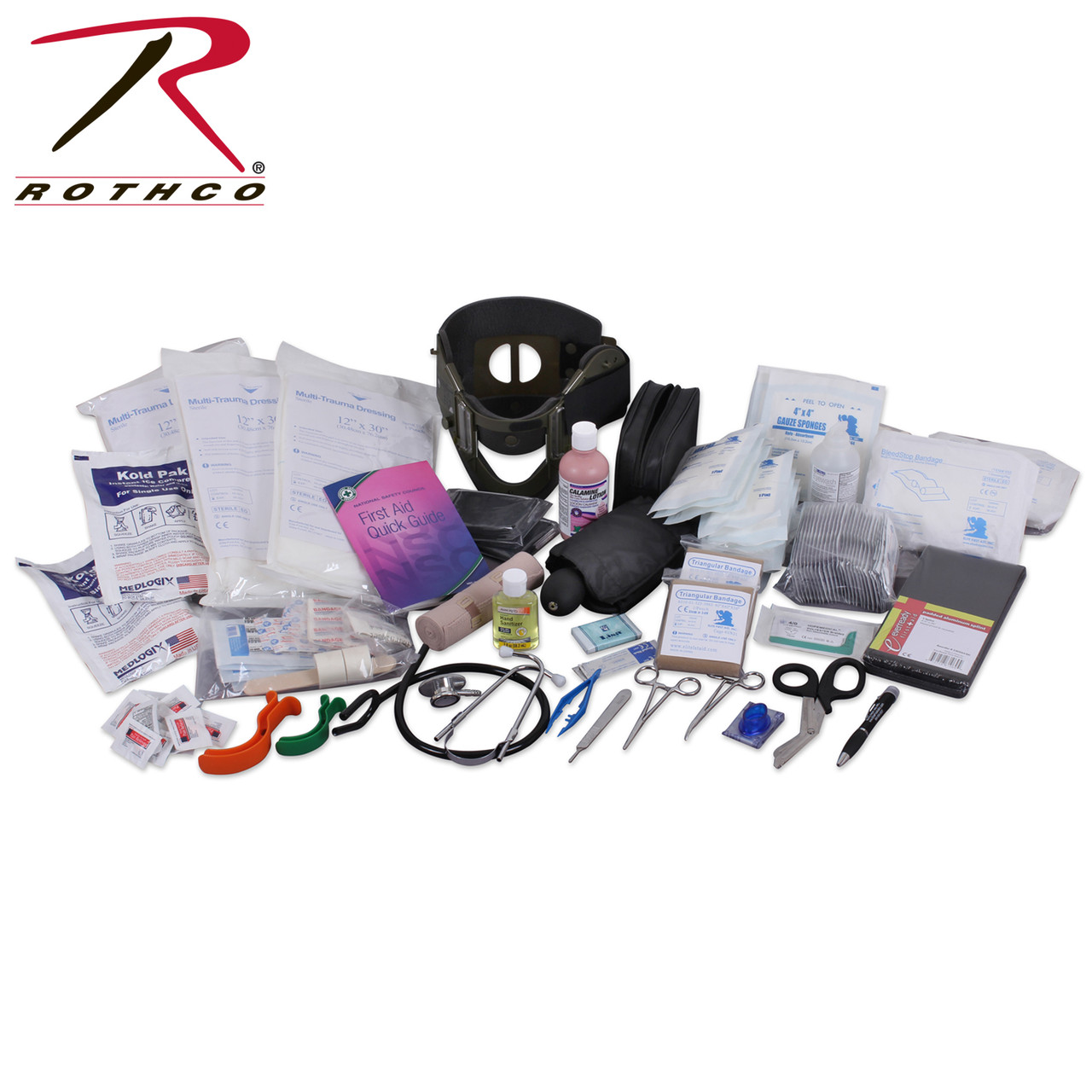 Rothco EMT Medical Trauma Kit  | Rothco 1145 | EMT 200 piece First Aid Kit