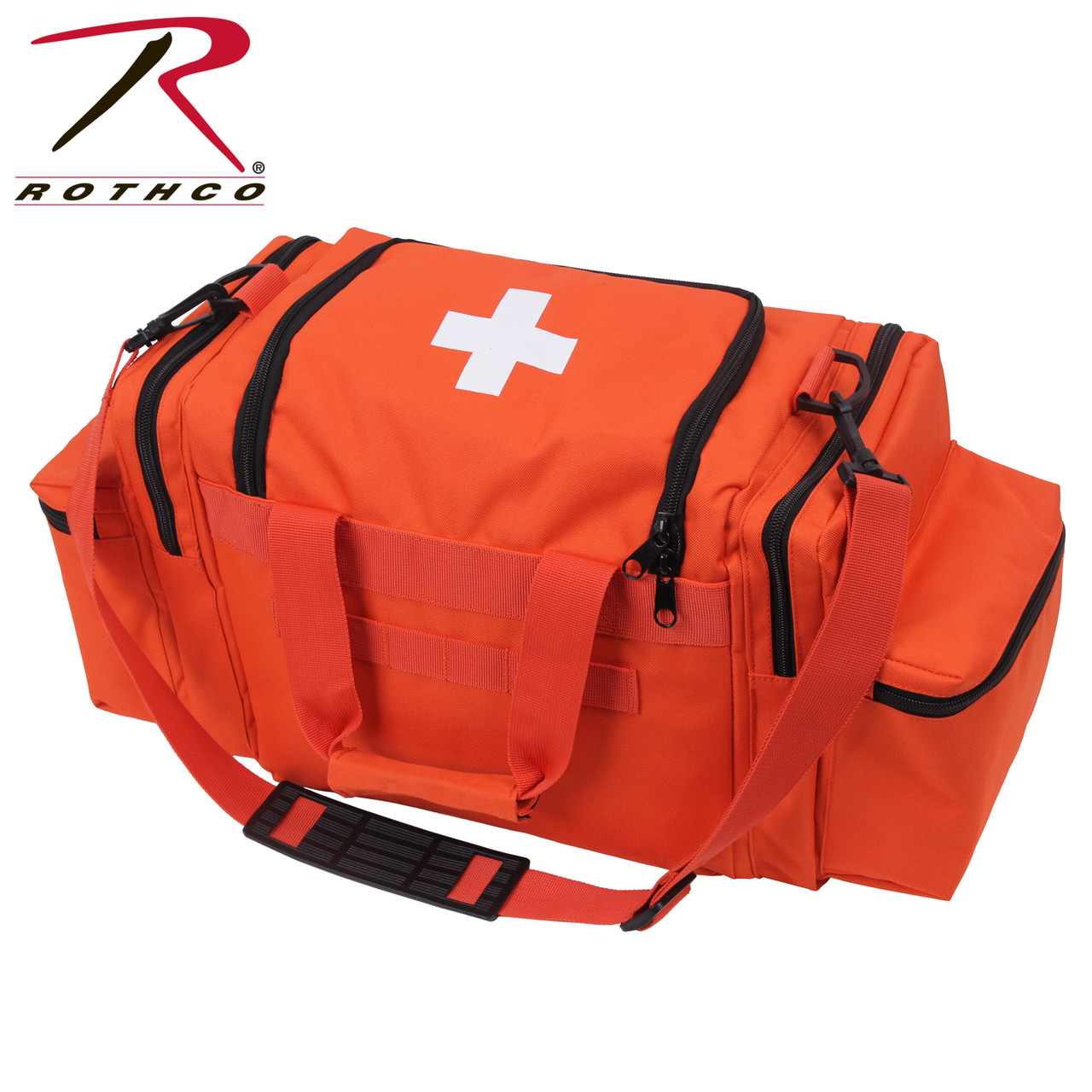 Rothco EMT Medical Trauma Kit Orange | Rothco 1145 Orange | EMT First Aid Kit