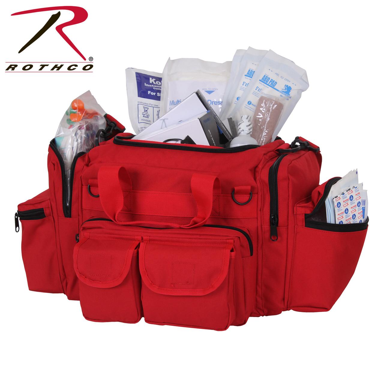 Rothco EMT Medical Trauma Kit Red | Rothco 1145 Red