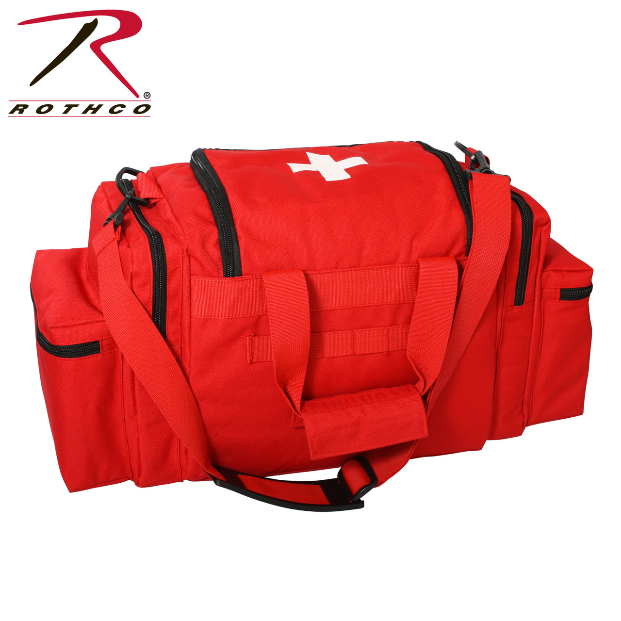First Responder First Aid Kit Red | EMT First Aid Supplies