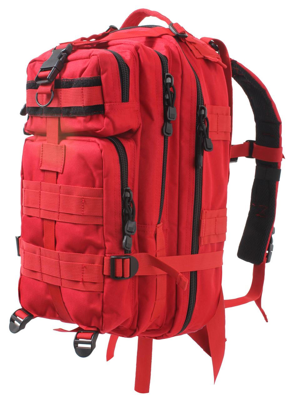 First Responder First Aid Kit Red | Military First Aid Supplies
