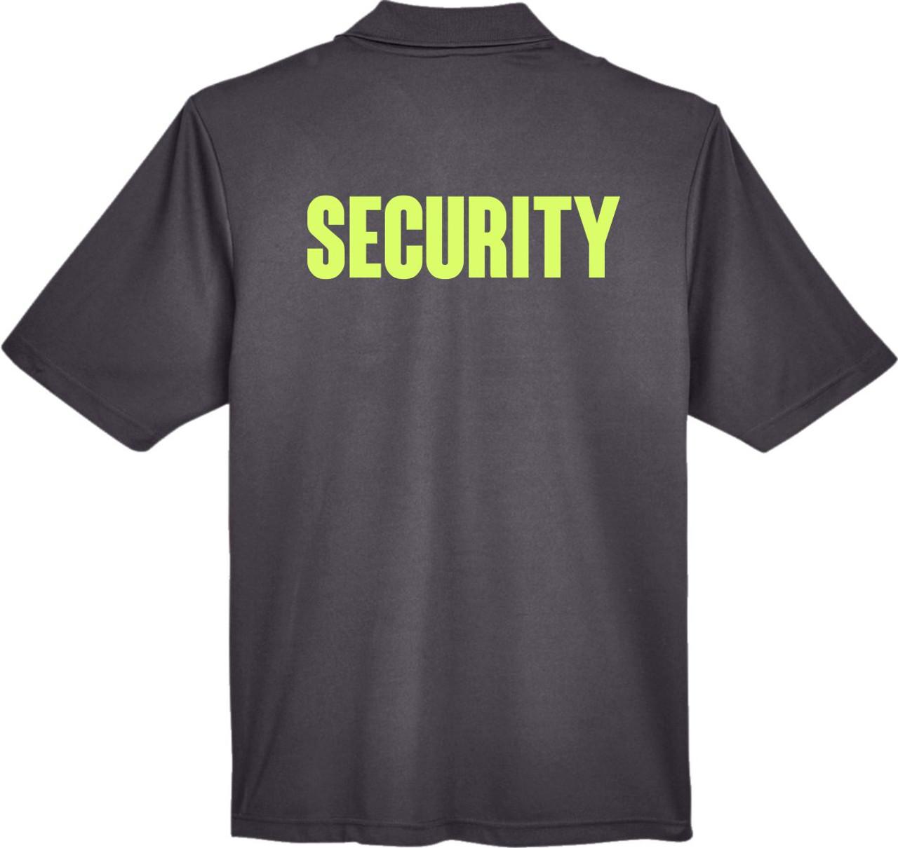 Hi Viz Security Polo