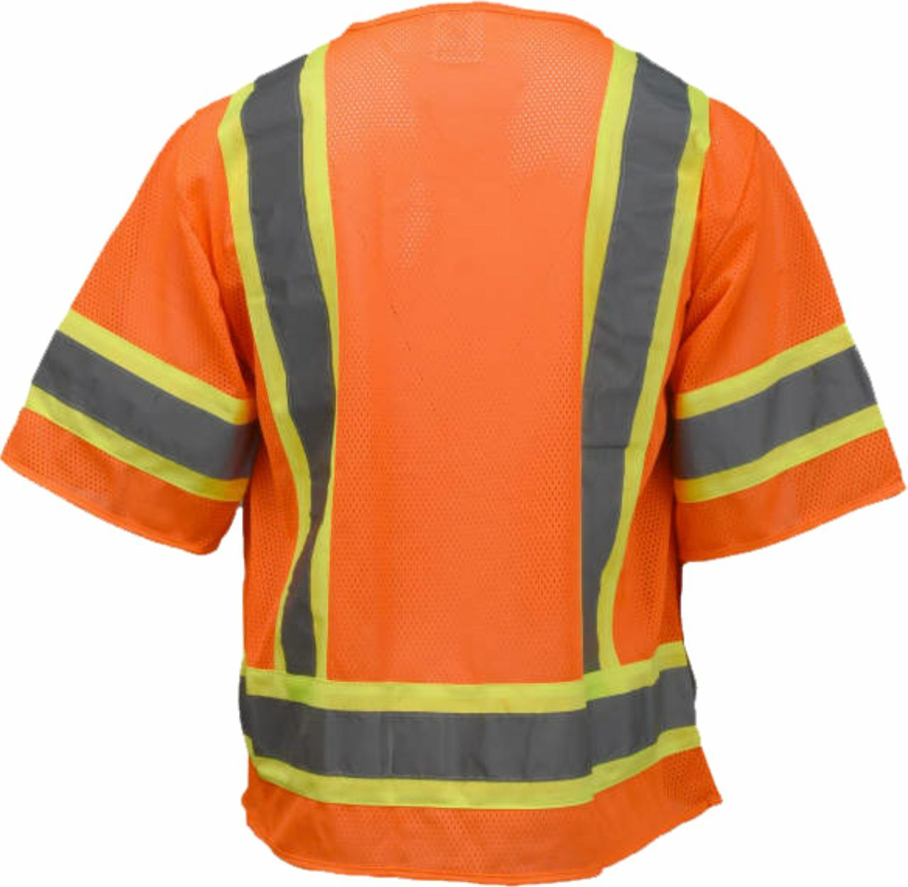 Safety Orange 3 Tone Class 2 Safety Vest