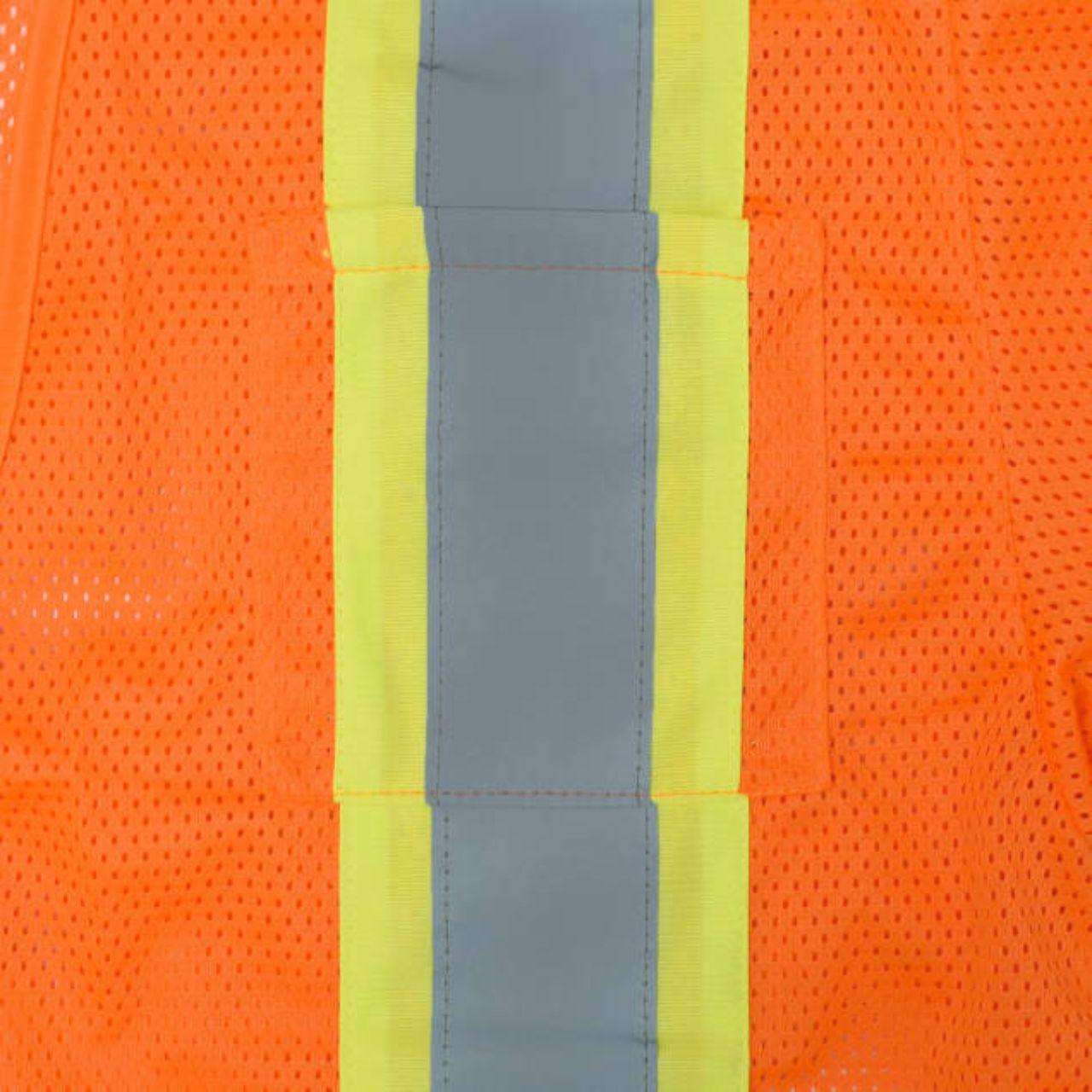 Two Tone Stripe Class 3 Safety Vest