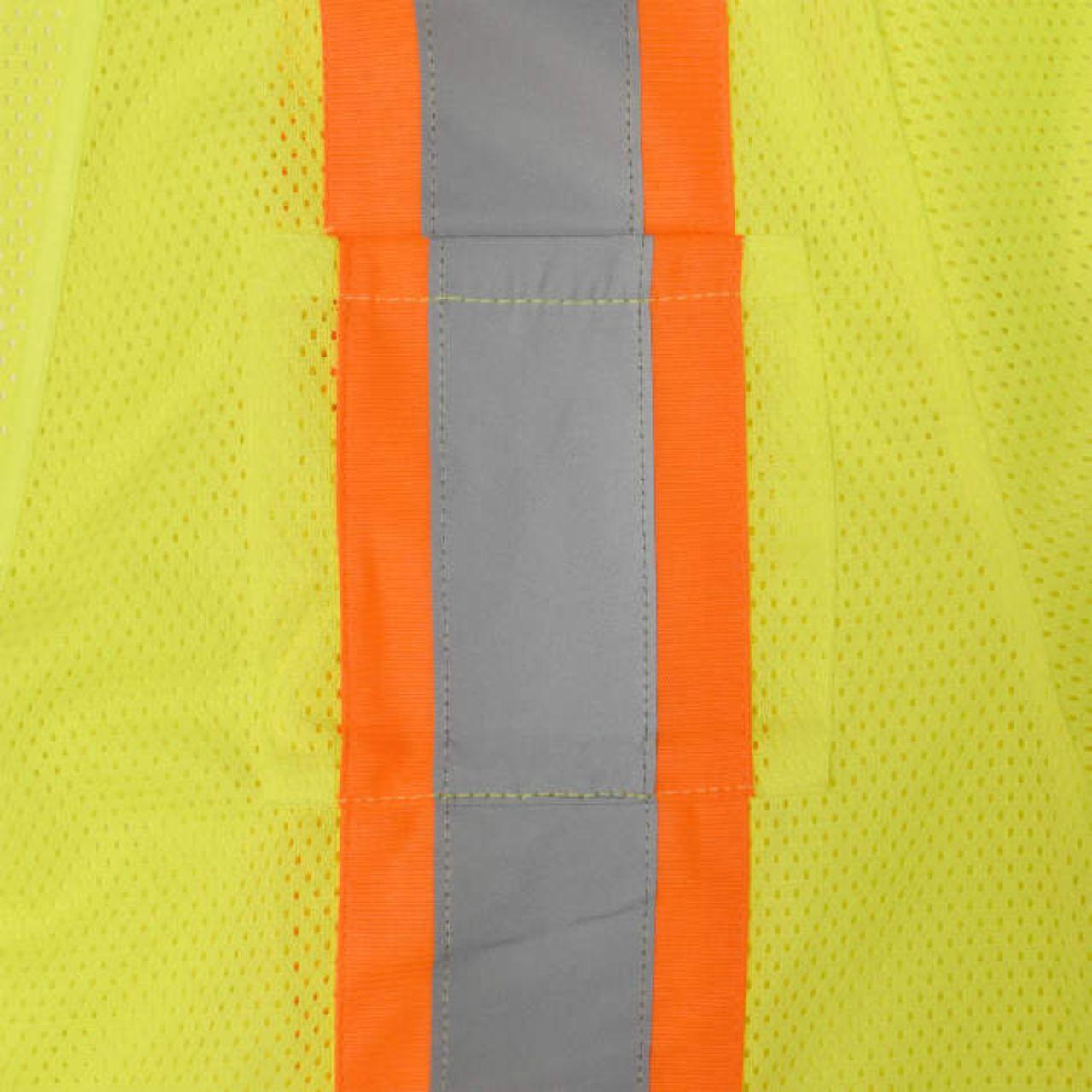 Two Tone Reflective Stripe Class 3 Safety Vest