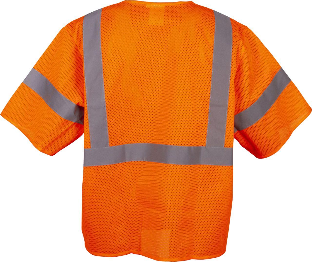 Safety Orange Safety Vest Class 3