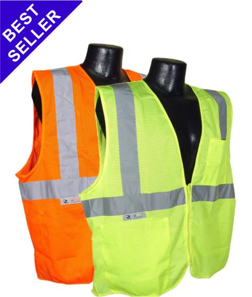 ANSI Class 2 Safety Vest   SV2 Radians Safety Vest   Reflective Traffic Vest