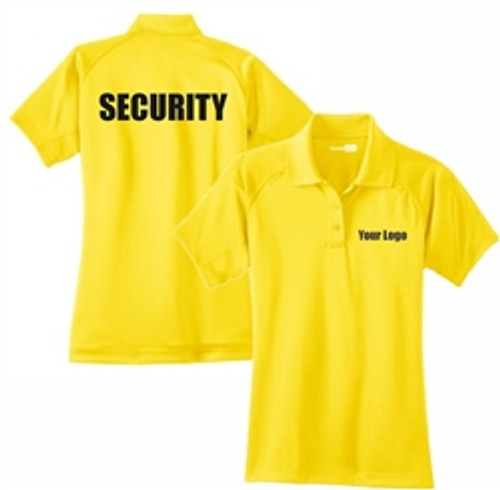 Security - Ladies Short Sleeve Tactical Polo (MORE COLORS AVAILABLE)