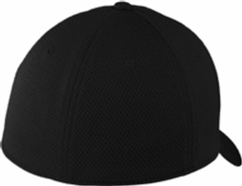 Security - Embroidered Mesh Back Cap Stretch-To-Fit