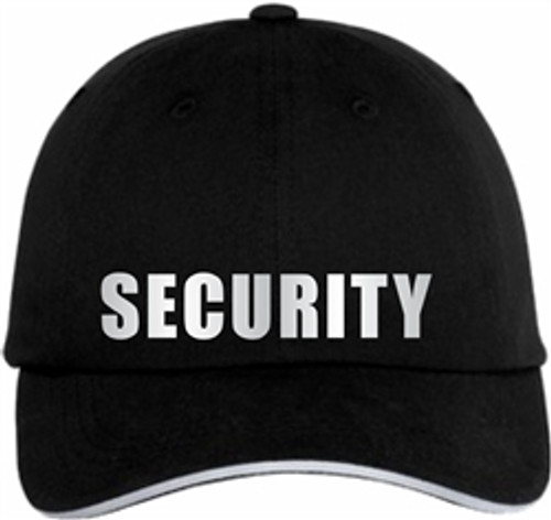 Black reflective Security Cap