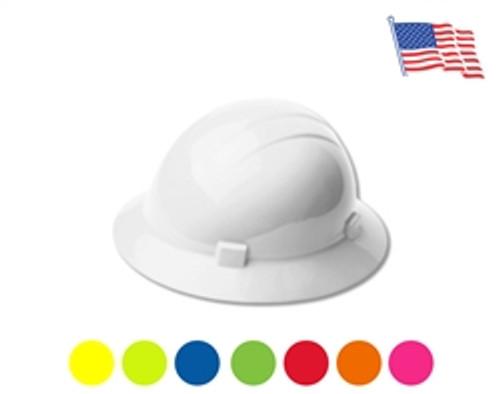 Americana Full Brim Hard Hat with 4 Pt Ratchet - ERB 19199
