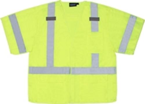 5 Point Break-Away Class 3 Safety Vest with D-Ring Pass Thru - ERB S542