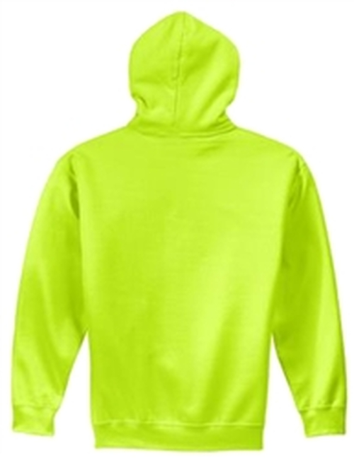 Safety Green Fleece Hooded Sweatshirt *Custom Printing Available*