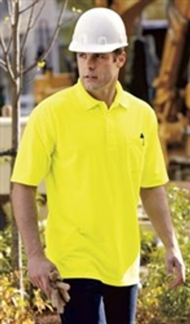 Industrial Pique Polo with Pocket *Custom Embroidery and Custom Screen Printing Available*