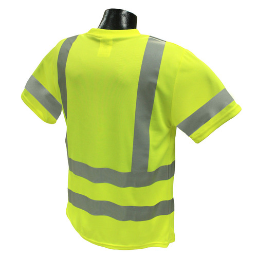 Hi-Vis Green Type R Class 3 Short Sleeve T-Shirt with MAX-DRI™ *Custom Printing Available*